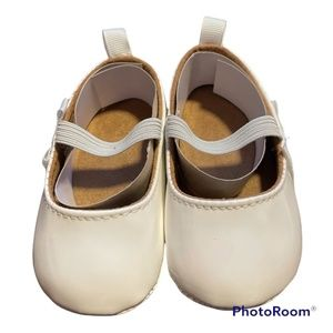 Infant Girls White Patton Leather Mary Janes